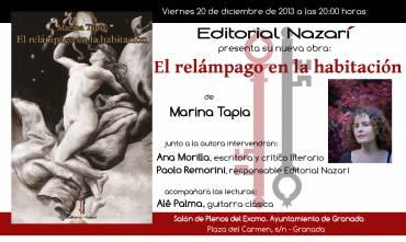 'El relámpago en la habitación' en Granada