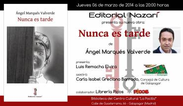'Nunca es tarde' en Galapagar