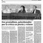 Premio Andalucía de la Crítica - Granada Hoy