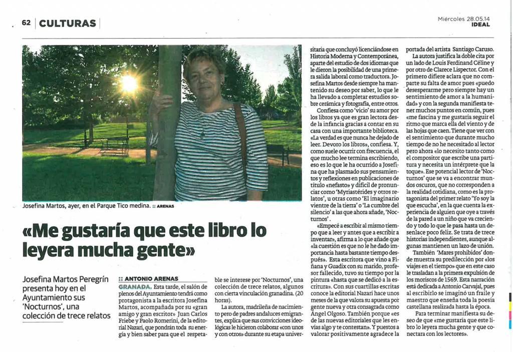 Nocturnos - Josefina Martos Peregrín - Ideal