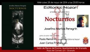 Nocturnos - Josefina Martos Peregrín - Granada
