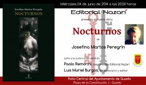 Nocturnos - Josefina Martos Peregrín - Guadix