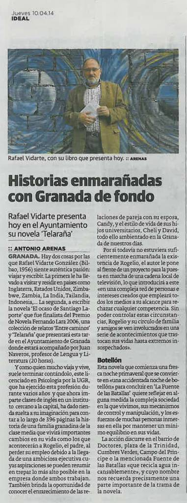 Telaraña - Rafael Vidarte - Ideal