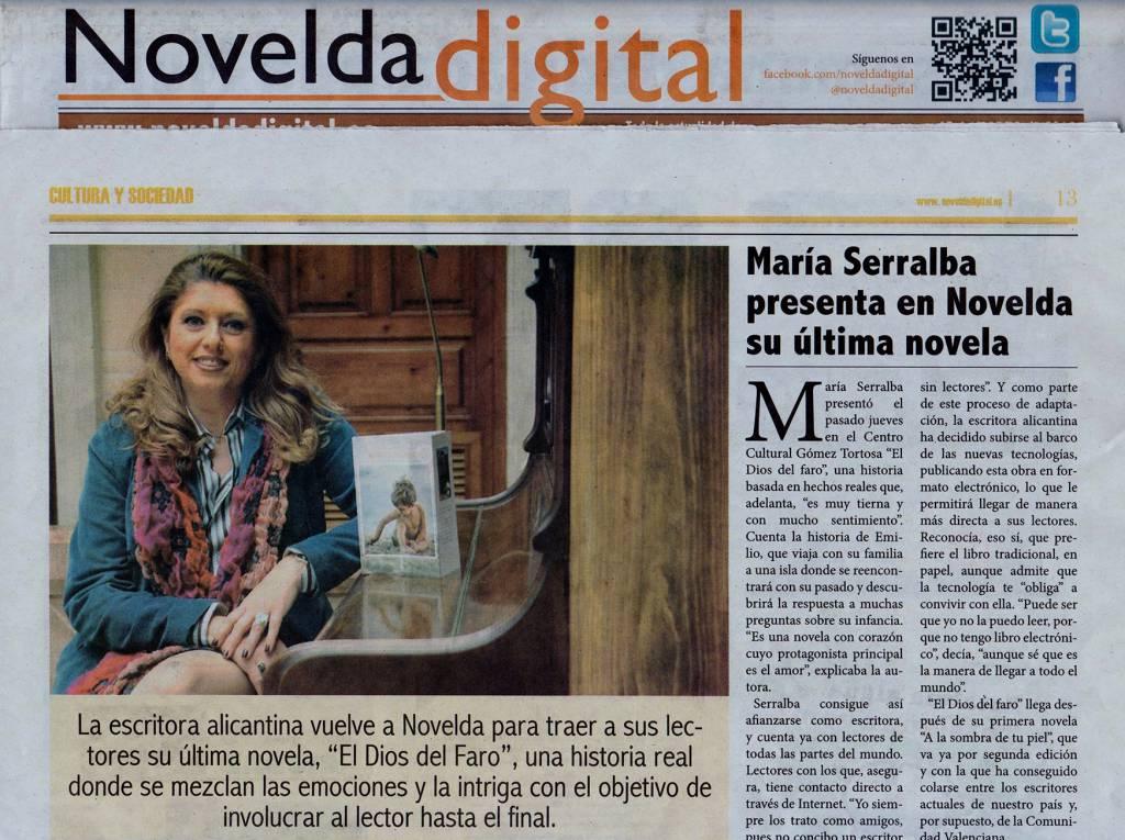 El Dios del faro - María Serralba - Novelda digital