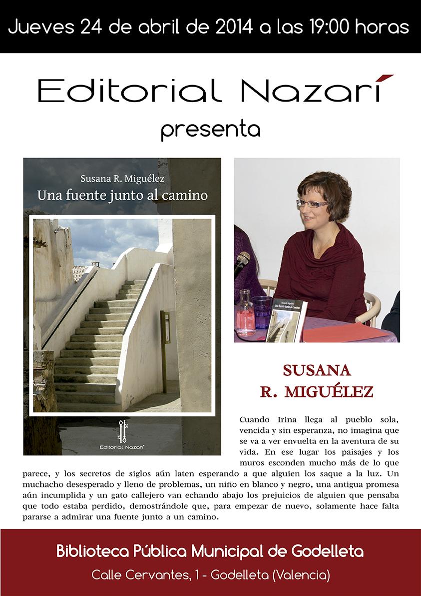 Una fuente junto al camino - Susana R. Miguélez - Godelleta