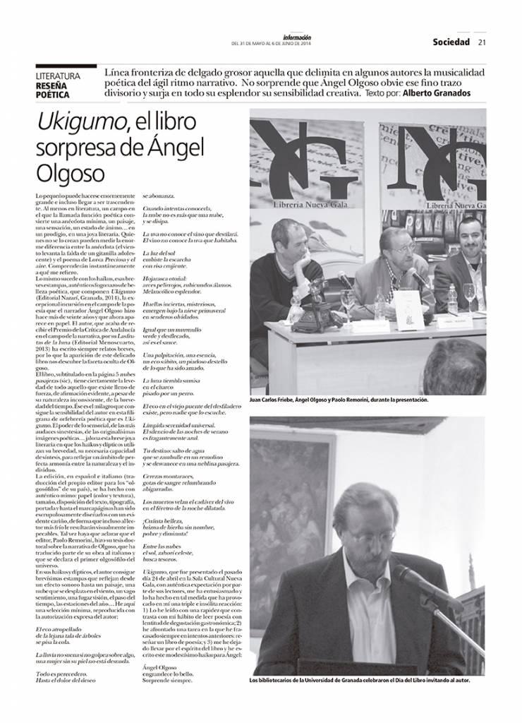 Ukigumo - Ángel Olgoso - Wadi-as