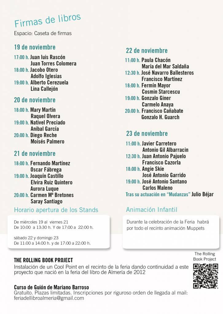Feria del Libro de Almería 2014 - FLA14