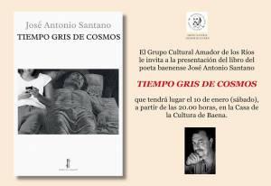 Tiempo gris de cosmos - José Antonio Santano - Baena