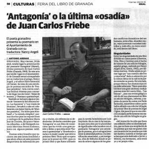Antagonía - Juan Carlos Friebe - Ideal