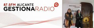 María Serralba en Gestiona Radio de Alicante