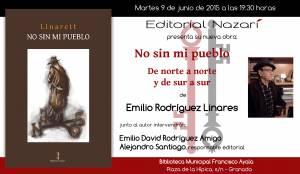 No sin mi pueblo - Emilio Rodríguez Linares - Biblioteca Francisco Ayala