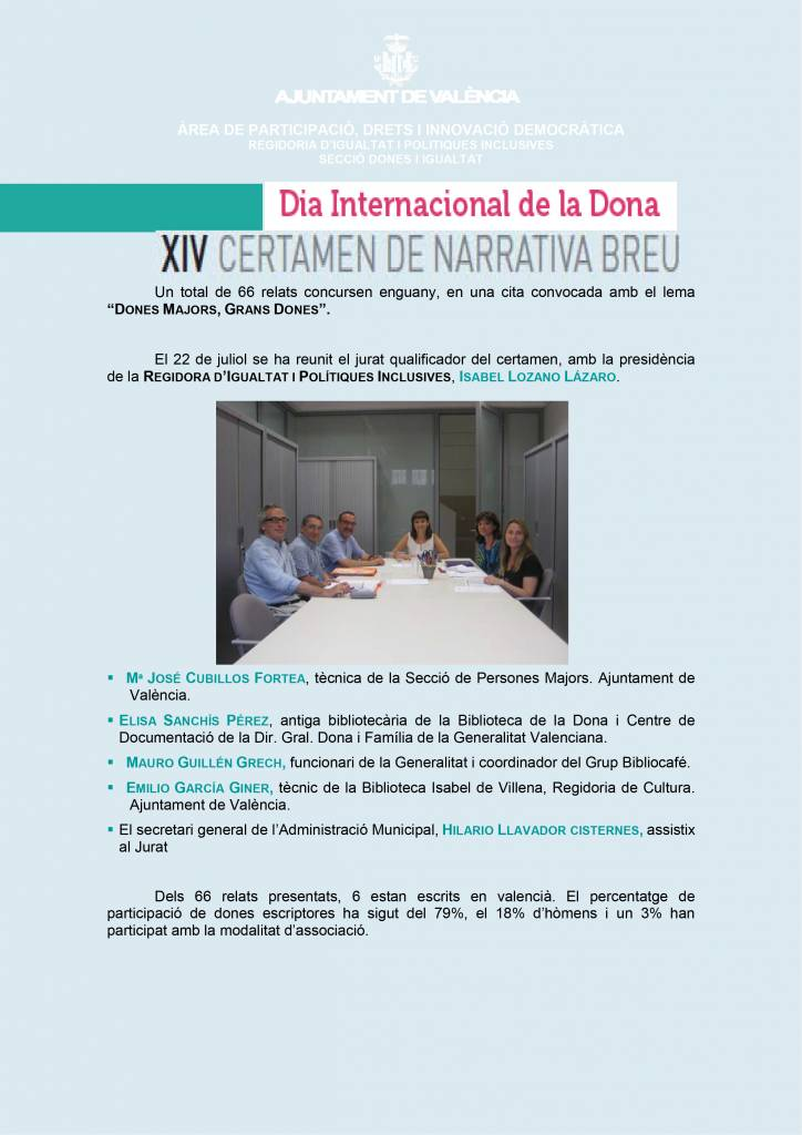 Susana R. Miguélez - XIV Certamen de Narrativa Breve de Valencia 01