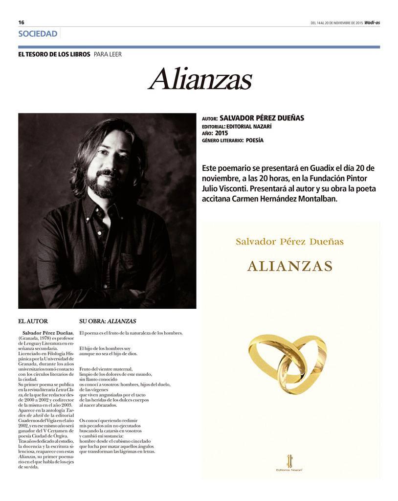 Alianzas - Salvador Pérez Dueñas - Wadi-as