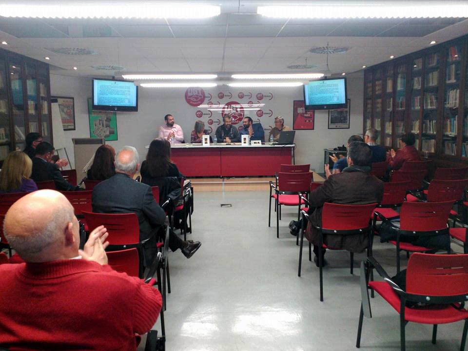 Sueños dispersos - Francisco Beltrán Sánchez - UGT Granada