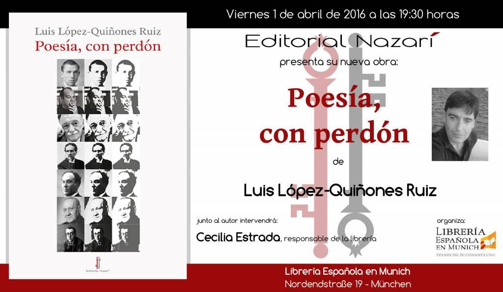 Poesía, con perdón - Luis López Quiñones - Munich