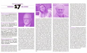 'Nocturnario' en la Feria del Libro de Valladolid