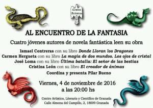 Al encuentro de la fantasía 2016 - Centro Artístico Granada