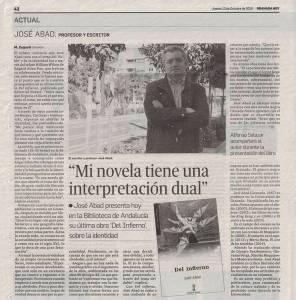Del infierno - José Abad - Granada Hoy