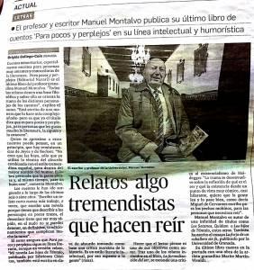 Parapocos y perplejos - Manuel Montalvo - Granada Hoy