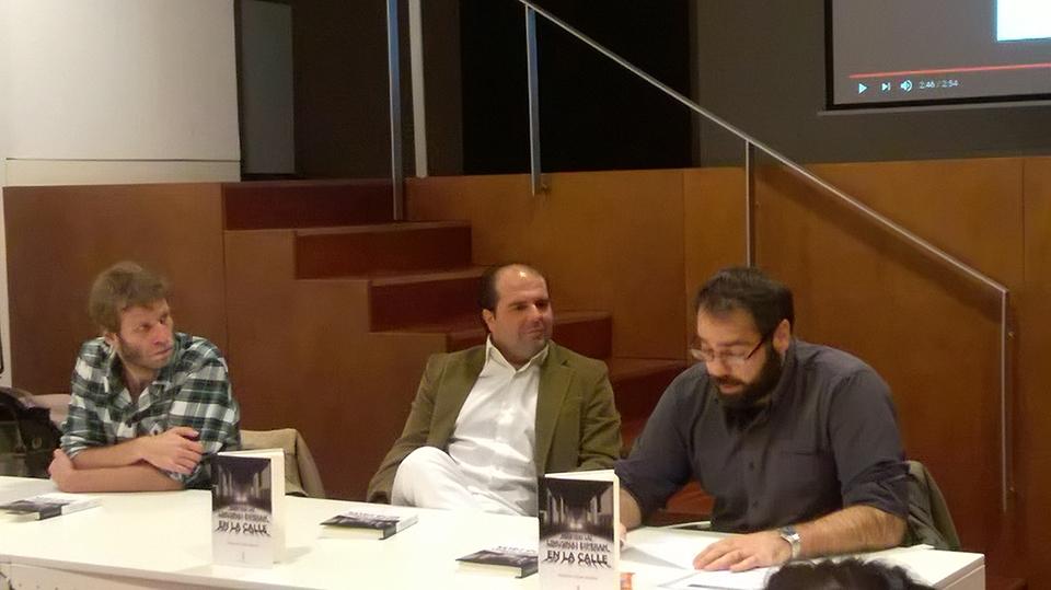 Mientras las limusinas esperan en la calle - Antonio César Morón - Madrid 02