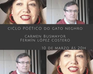 Ciclo poético en Do Gato Neghro de Lugo