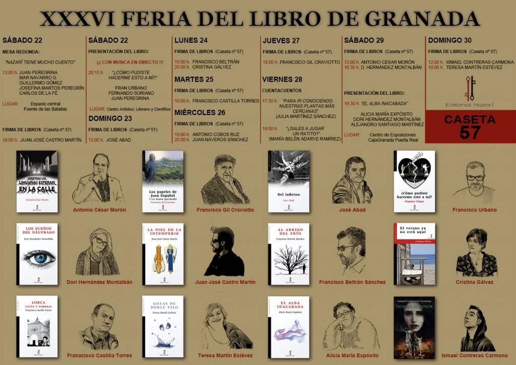 Feria del Libro de Granada 2017 - FLG17