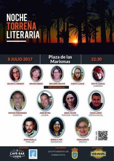 'Despertando a la vida' en la noche torreña literaria