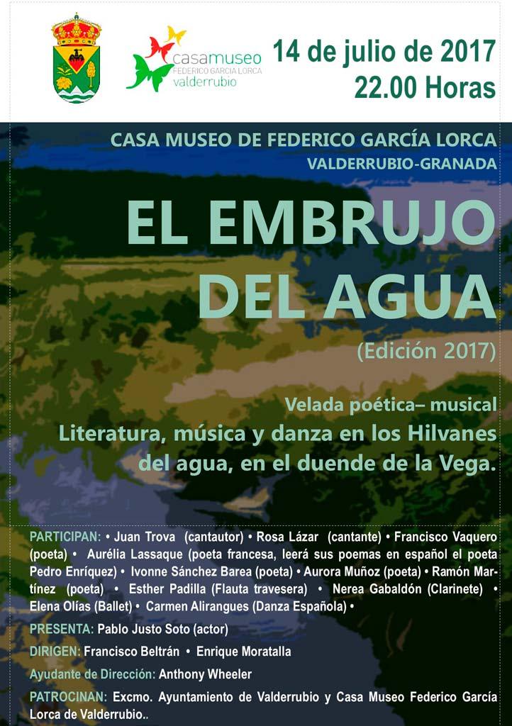 Hilvanes del agua - Francisco Beltrán Sánchez - Valderrubio - El embrujo del agua