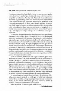 Del infierno - José Abad - Alhucema