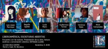 'No somos flores' en La Casa de los Cuentos de Barcelona