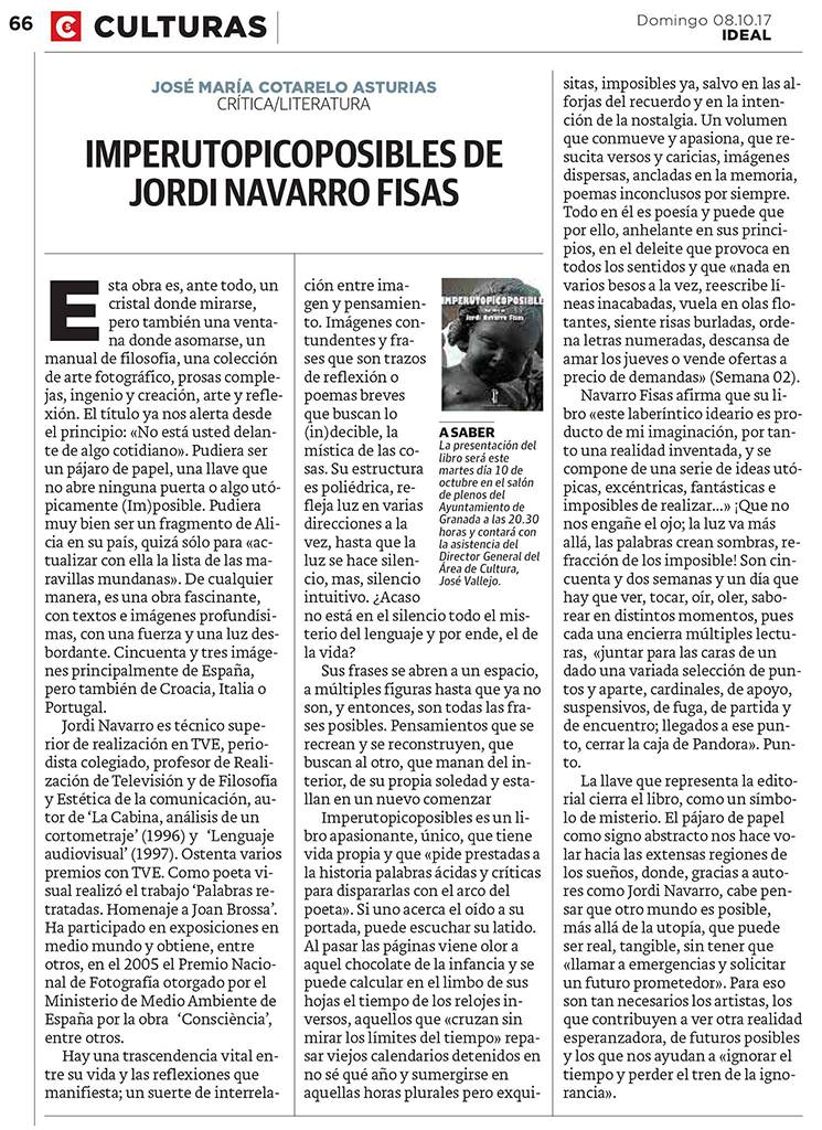 Imperutopicoposibles - Jordi Navarro - Ideal