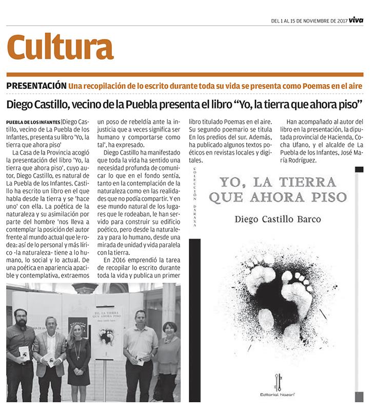 Yo, la tierra que ahora piso - Diego Castillo - Andalucía información
