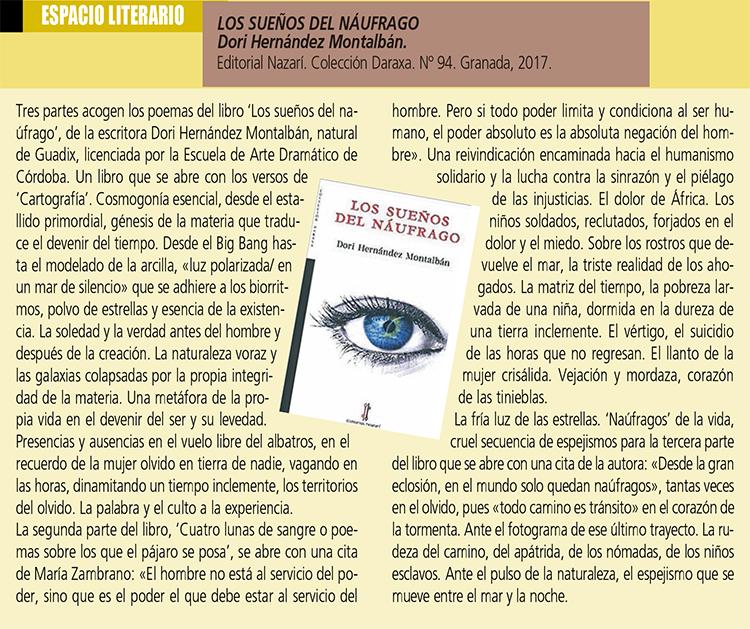 Los sueños del náufrago - Dori Hernández Montalbán - Foco Sur