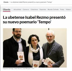 Tempo - Isabel Rezmo - Ideal Úbeda