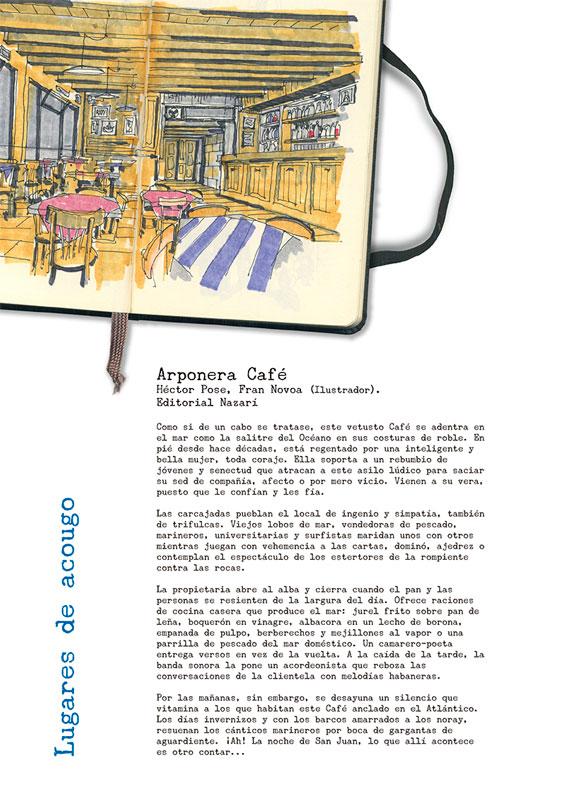 Arponera Café - Héctor Pose - Ficción real