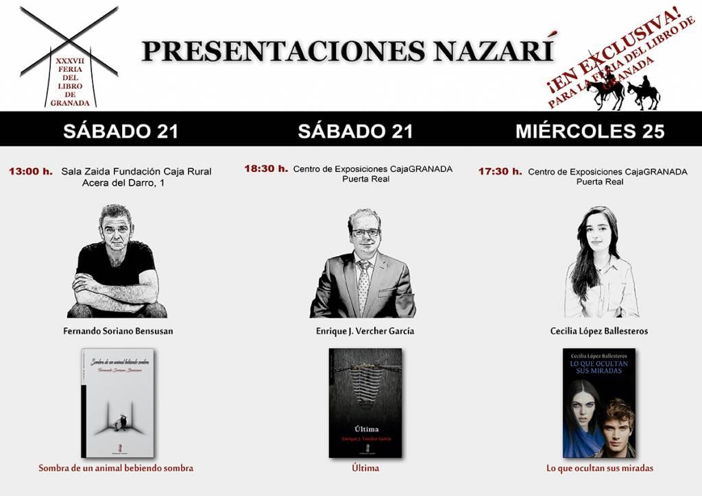 Editorial Nazarí - FLG 18 - Presentaciones