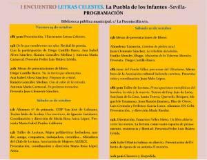 I Encuentro Letras Celestes - Diego Castillo - Puebla de los Infantes 02