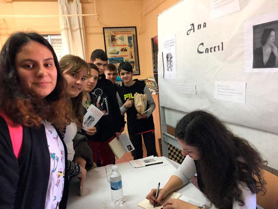 Ana Carril - La distancia trazada entre dos cuerpos - IES Humanejos 02
