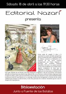 El corazón del roble - Victoria E. Muñoz Jiménez - Feria del Libro de Granada - FLG2015