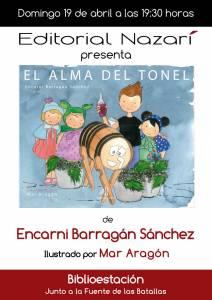 El alma del tonel - Encarni Barragán - Feria del Libro de Granada - FLG2015