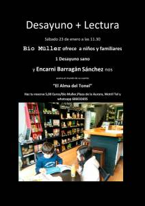 El alma del tonel - Encarni Barragán - Bio Müller - Motril