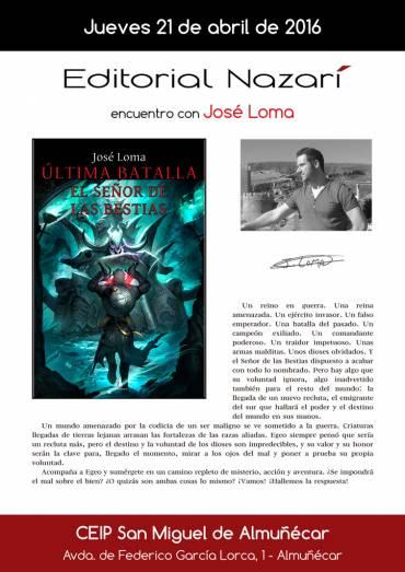Encuentro con José Loma en el CEIP San Miguel