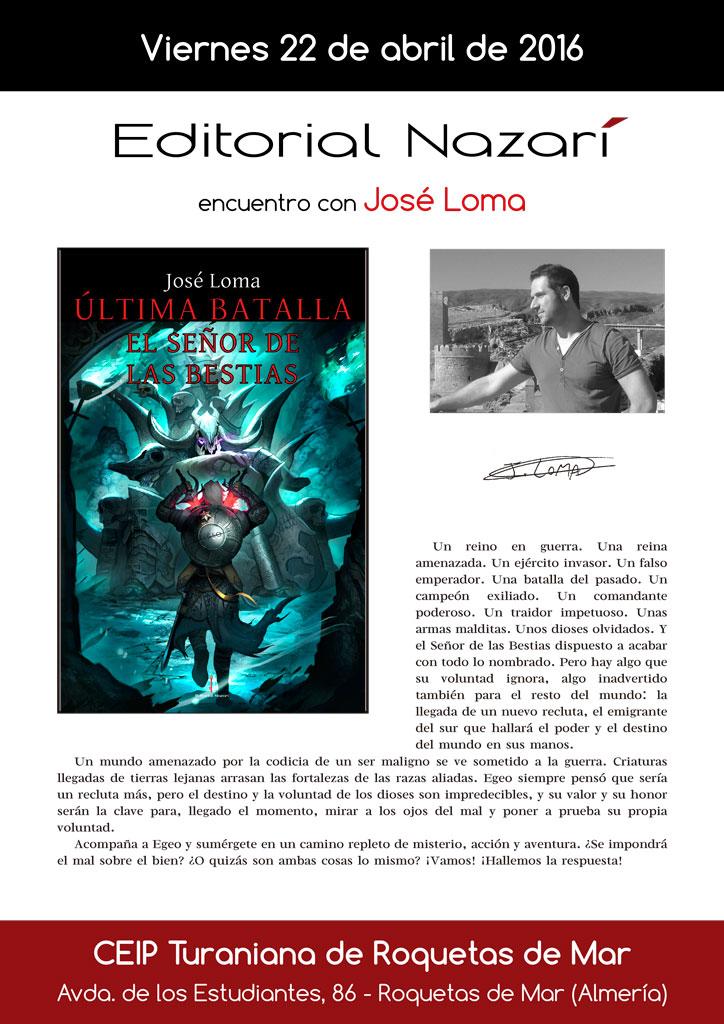 Última Batalla: El Señor de las Bestias - José Loma - IES Turaniana Roquetas de Mar