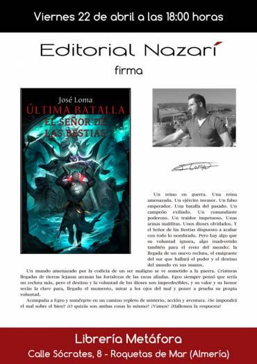'Última Batalla: El Señor de las Bestias' en Librería Metáfora