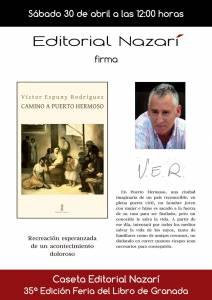 Camino a Puerto Hermoso - Víctor Espuny Rodríguez - Feria del Libro de Granada - FLG