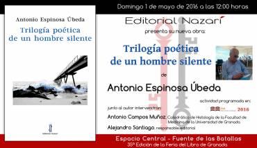 'Trilogía poética de un hombre silente' en la FLG