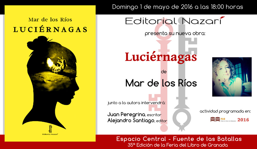 Luciérnagas - Mar de los Ríos - Feria del Libro de Granada - FLG