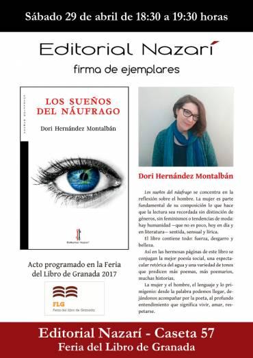 Firma de 'Los sueños del náufrago' en la FLG