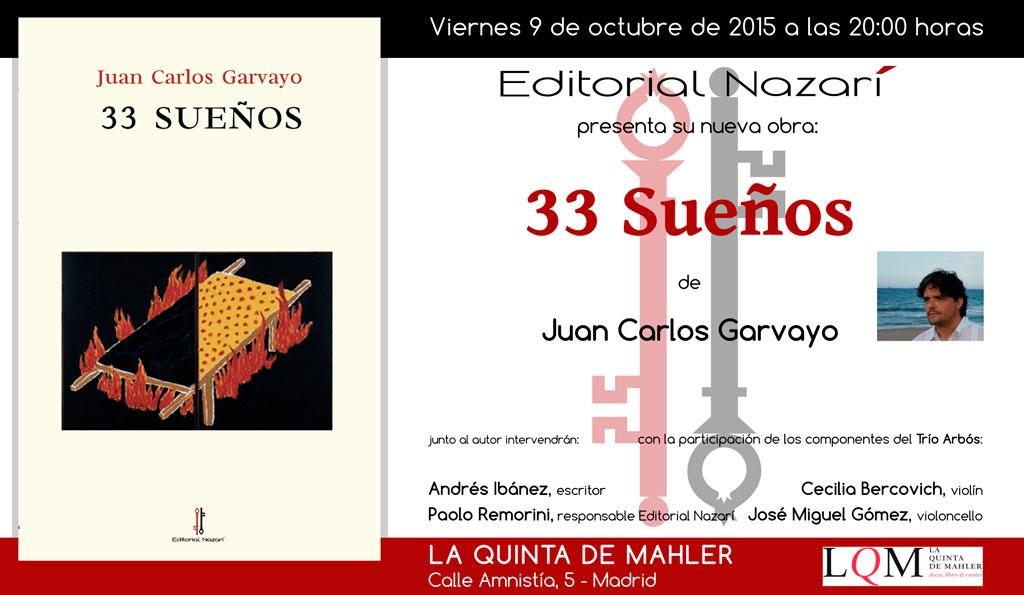 33 Sueños - Juan Carlos Garvayo - Madrid