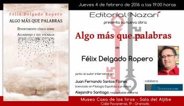'Algo más que palabras' en Granada